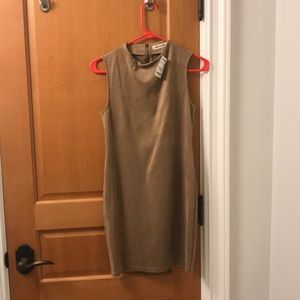 NWT Tan Bodycon Dress